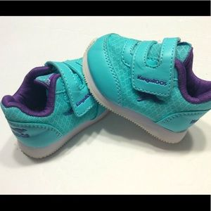 KangaRoos baby girl size 2 sneakers shoes